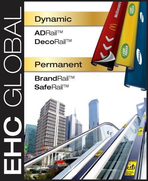EHC GLOBAL Handrail Signage