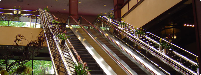 Custom Colour Matching - Escalator Handrails - White - Red - Blue - Gold