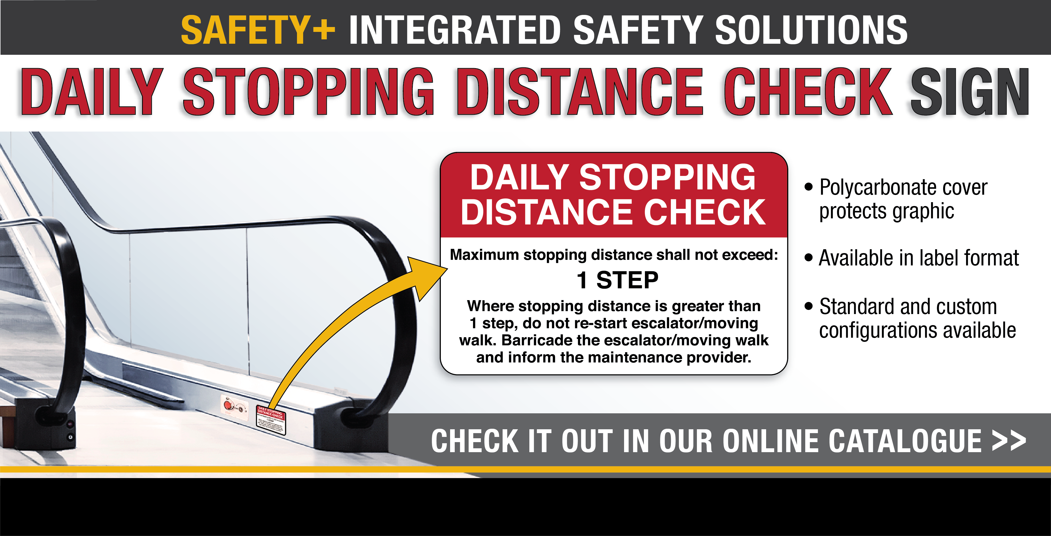 Daily Stopping Distance Check