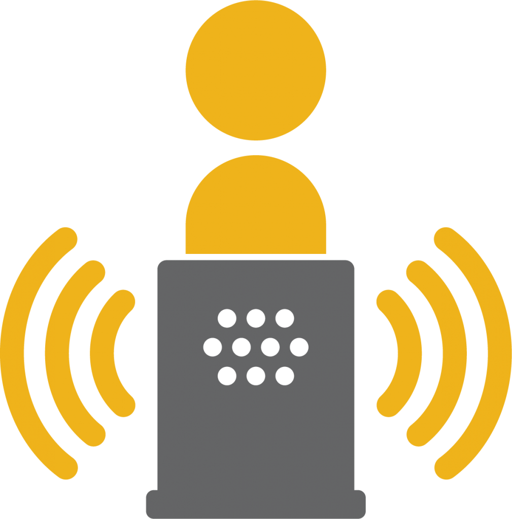 Decoration Icon for the Virtual Assistant