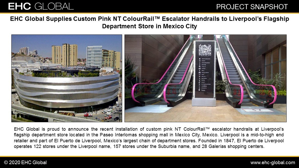 NT Color Pink Handrail