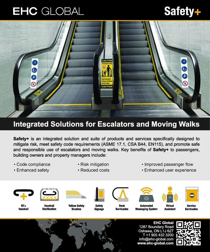 "Nominated for Elevator World 2020 Ellies Award in the Category of ""Best Supplier – Safety Products"""
