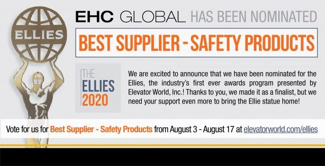 EHC Nominated for Ellies 2020